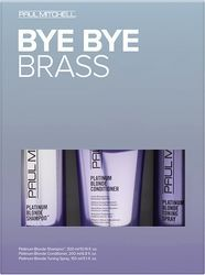 Paul Mitchell Platinum Blonde Bye Bye Brass Kit
